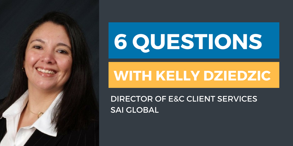Six Questions with an Ethics & Compliance Officer: Kelly Dziedzic