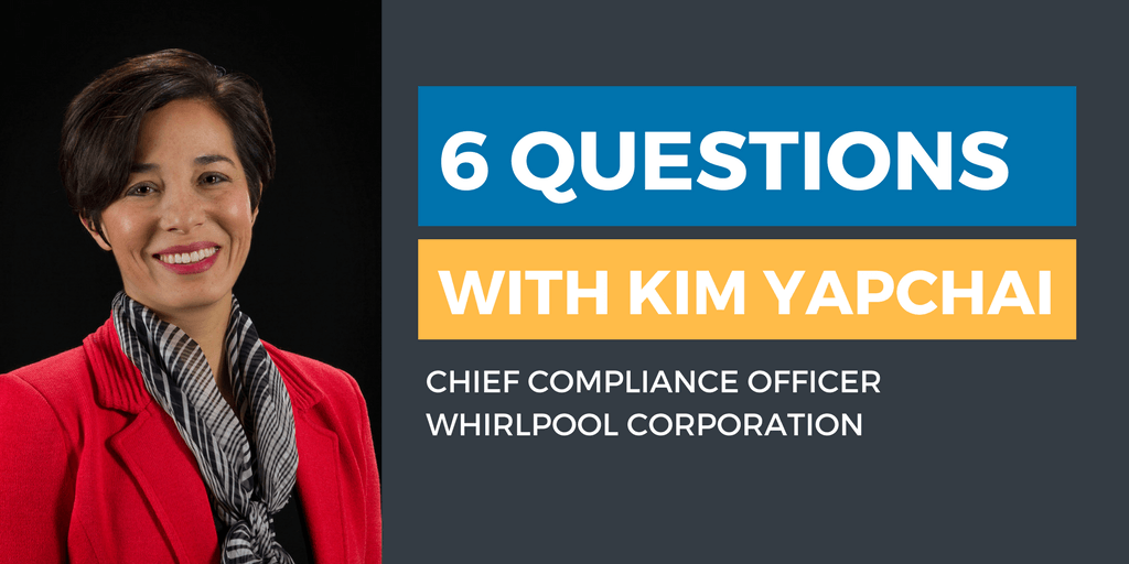 Six Questions with an Ethics & Compliance Officer: Kim Yapchai