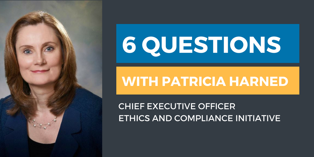 Six Questions with an Ethics & Compliance Officer: Patricia Harned