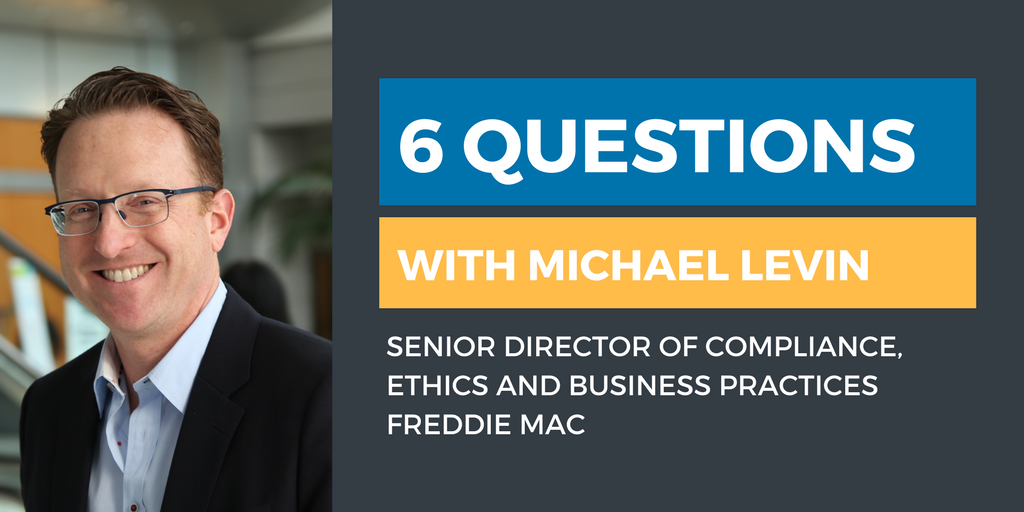 Six Questions with an Ethics & Compliance Officer: Michael Levin