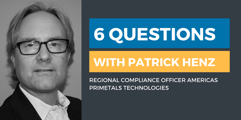 Six Questions with an Ethics & Compliance Officer: Patrick Henz