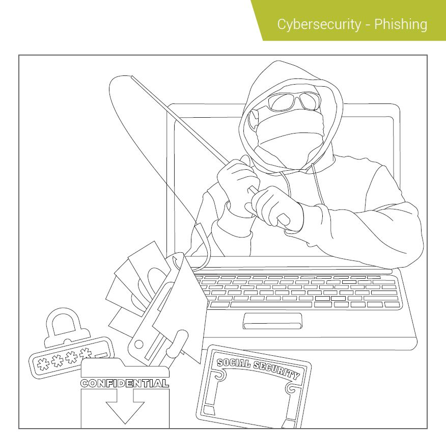 Compliance Coloring Book Cybersecurity Phishing 2018 SAI Global