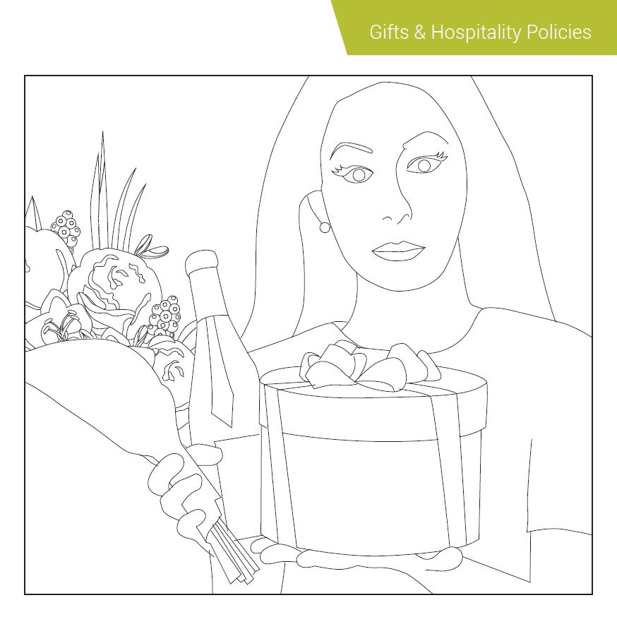 Compliance Coloring Book Gifts and Hospitality 2018 SAI Global