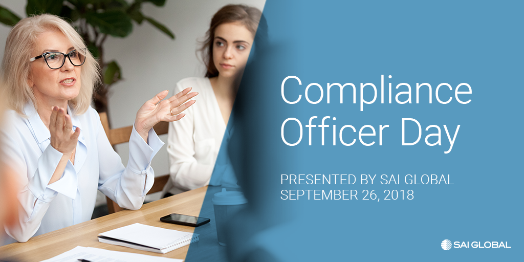 Today is Compliance Officer Day!