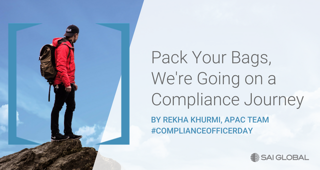 Pack Your Bags, We're Going on a Compliance Journey